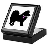 Chow Chow Breast Cancer Suppo Keepsake Box