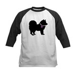 Chow Chow Breast Cancer Suppo Kids Baseball Jersey