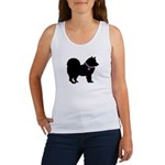 Chow Chow Breast Cancer Suppo Women's Tank Top