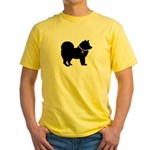 Chow Chow Breast Cancer Suppo Yellow T-Shirt