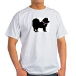 Chow Chow Breast Cancer Suppo Light T-Shirt