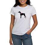 Doberman Pinscher Breast Canc Women's T-Shirt