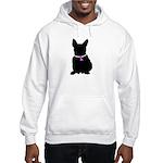French Bulldog Breast Cancer Hooded Sweatshirt