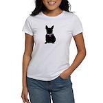 French Bulldog Breast Cancer Women's T-Shirt