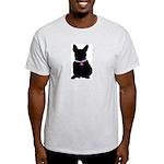 French Bulldog Breast Cancer Light T-Shirt