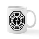 Dharma Black Ankh Mug