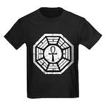 Dharma Black Ankh Kids Dark T-Shirt
