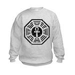 Dharma Black Ankh Kids Sweatshirt
