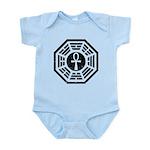 Dharma Black Ankh Infant Bodysuit