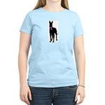Great Dane Breast Cancer Supp Women's Light T-Shir