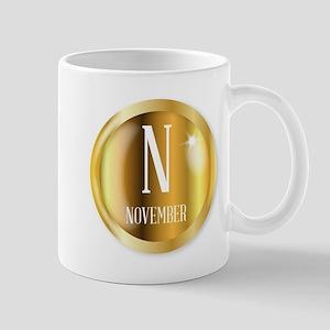 N For November Mugs