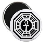 Dharma Black Ankh Magnet