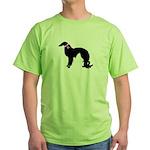 Irish Setter Breast Cancer Su Green T-Shirt