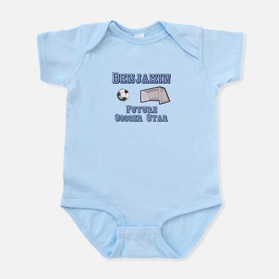 Benjamin - Future Soccer Star Infant Bodysuit