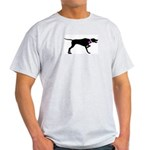 Pointer Breast Cancer Support Light T-Shirt