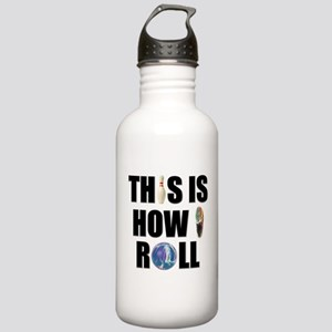 How I Roll Bowling Stainless Water Bottle 1.0L