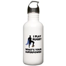 Rugby Superhero Stainless Water Bottle 1.0L