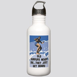 Old Surfers Never Die Stainless Water Bottle 1.0L