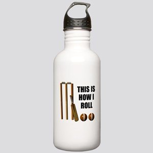 This Is How I Roll Cricket Stainless Water Bottle