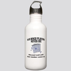 Old Bingo Players Stainless Water Bottle 1.0L
