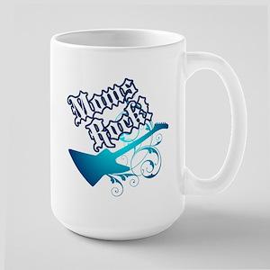 Moms Rock! - Large Mug