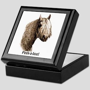 Peek a boo Pony Keepsake Box