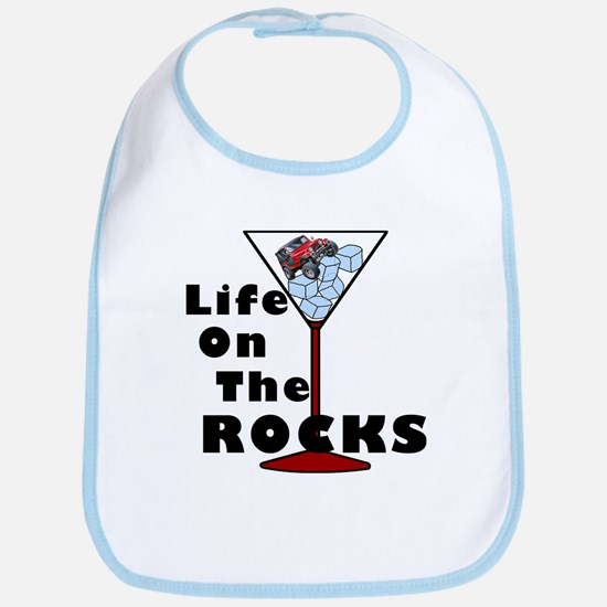 On Rocks Martini Bib