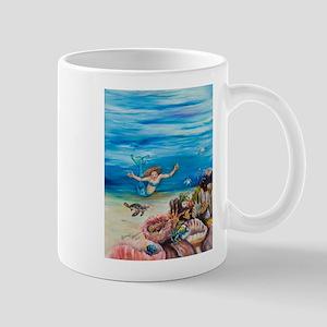 Mermaid with Sea Turtles Mug