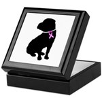 Shar Pei Breast Cancer Suppor Keepsake Box