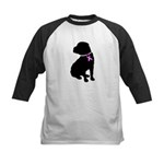 Shar Pei Breast Cancer Suppor Kids Baseball Jersey