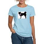 Siberian Husky Breast Cancer Women's Light T-Shirt