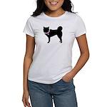 Siberian Husky Breast Cancer Women's T-Shirt