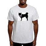 Siberian Husky Breast Cancer Light T-Shirt