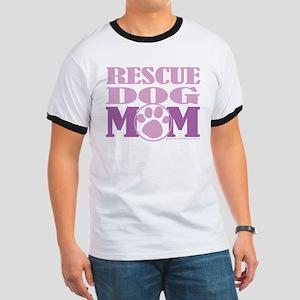 Rescue Dog Mom Ringer T
