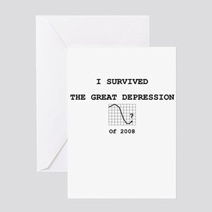 SurvivedDepression Greeting Card