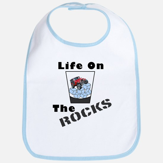 On Rocks Glass Bib