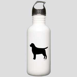Black Lab Silhouette Stainless Water Bottle 1.0L