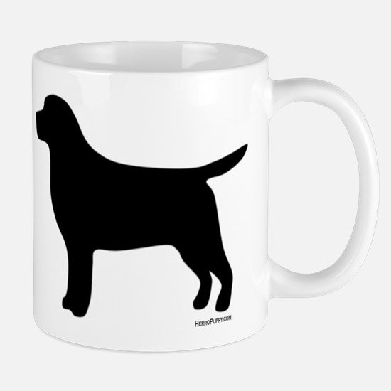 Black Lab Silhouette Mug