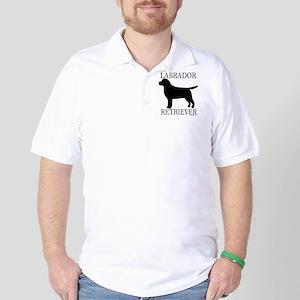 Black Labrador Retriever Golf Shirt