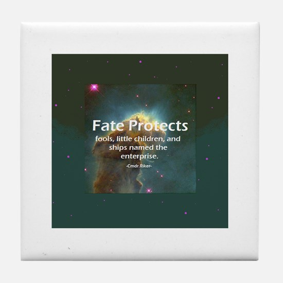 Star Trek fate protects Tile Coaster