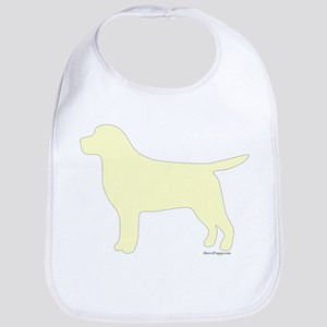 Yellow Lab Silhouette Bib
