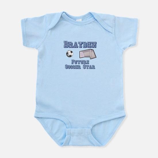 Brayden - Future Soccer Star Infant Bodysuit