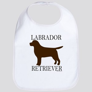 Chocolate Labrador Retriever Bib