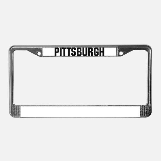 Pittsburgh, Pennsylvania License Plate Frame