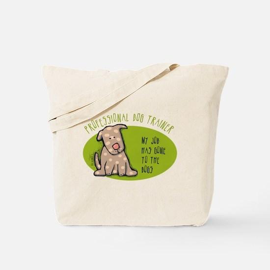 Funny Dog Trainer Tote Bag