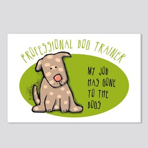 Funny Dog Trainer Postcards (Package of 8)