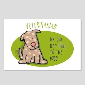 Funny Veterinarian Job Postcards (Package of 8)
