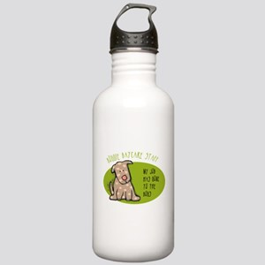Funny Doggie Daycare Stainless Water Bottle 1.0L