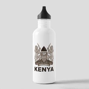 Vintage Kenya Stainless Water Bottle 1.0L