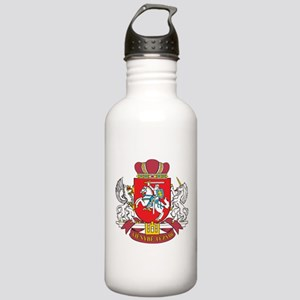 Lithuania Coat Of Arms Stainless Water Bottle 1.0L